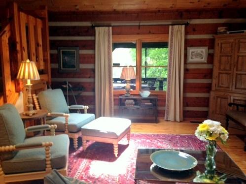 Lighten Up, Brighten Up a Mountain Cabin - Pulliam Morris ...