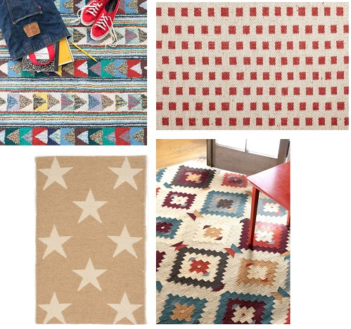 Rough, tough,  and stylish rugs for boys.